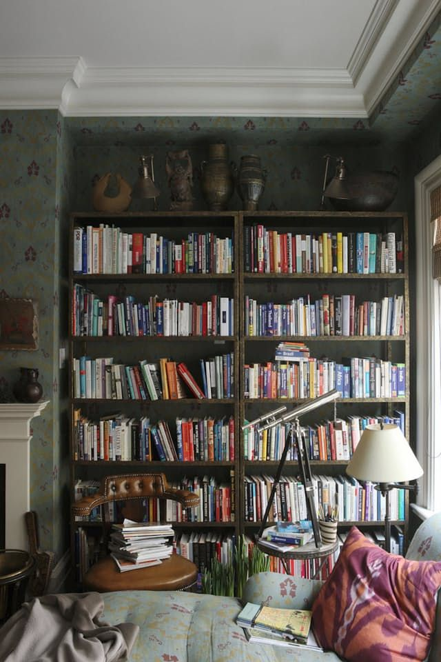 Every Bibliophile's Dream: 9 Perfectly Imperfect & Lovely Libraries | Apartment Therapy