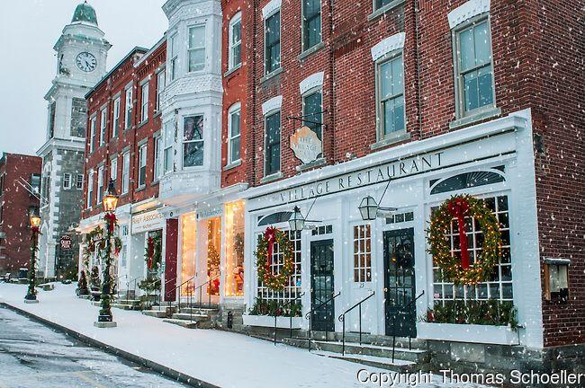 Schoeller-village-Litchfield-Connecticut-winter-christmas-decor