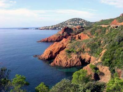 Massif de l'Esterel - Var - Provence Alpes Cote d'Azur - Découvrir - Je Découvre la France
