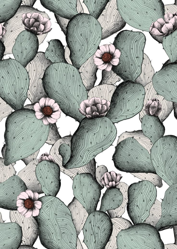pattern by Minakani for Otto d'Ame #minakani #ottodame #cactus   www.lab333.com…