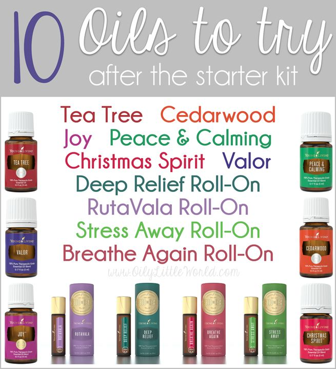 10 Young Living Essential Oils to try after the Starter Kit