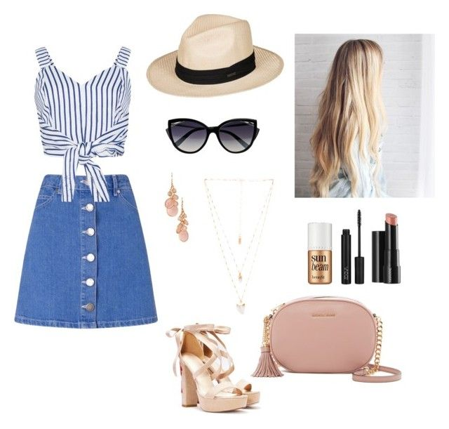 """Summer time"" by elina-fayzulina on Polyvore featuring мода, Miss Selfridge, WithChic, Nasty Gal, MICHAEL Michael Kors, La Perla, Roxy, Avon, Natalie B и Arbonne"