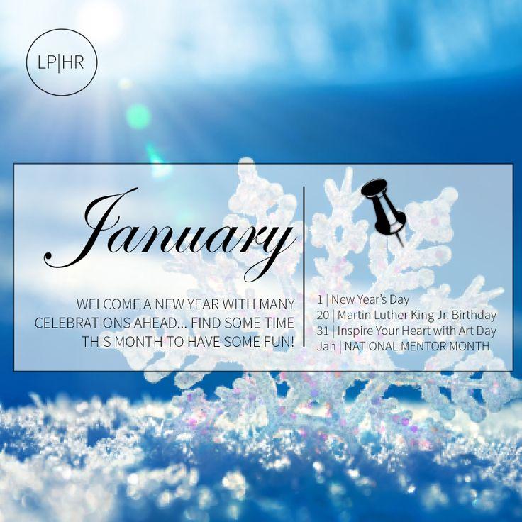 January 2014 // Mini Recognition Calendar