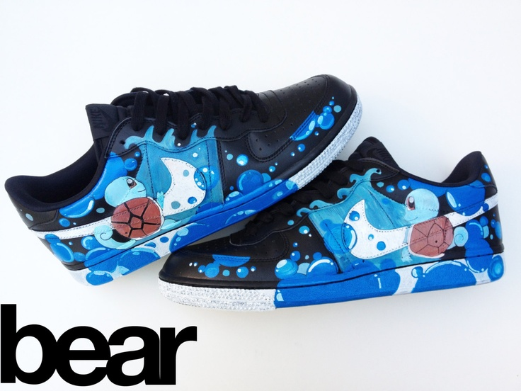 more photos f57f0 c3c38 Pokemon Custom Nike Shoes