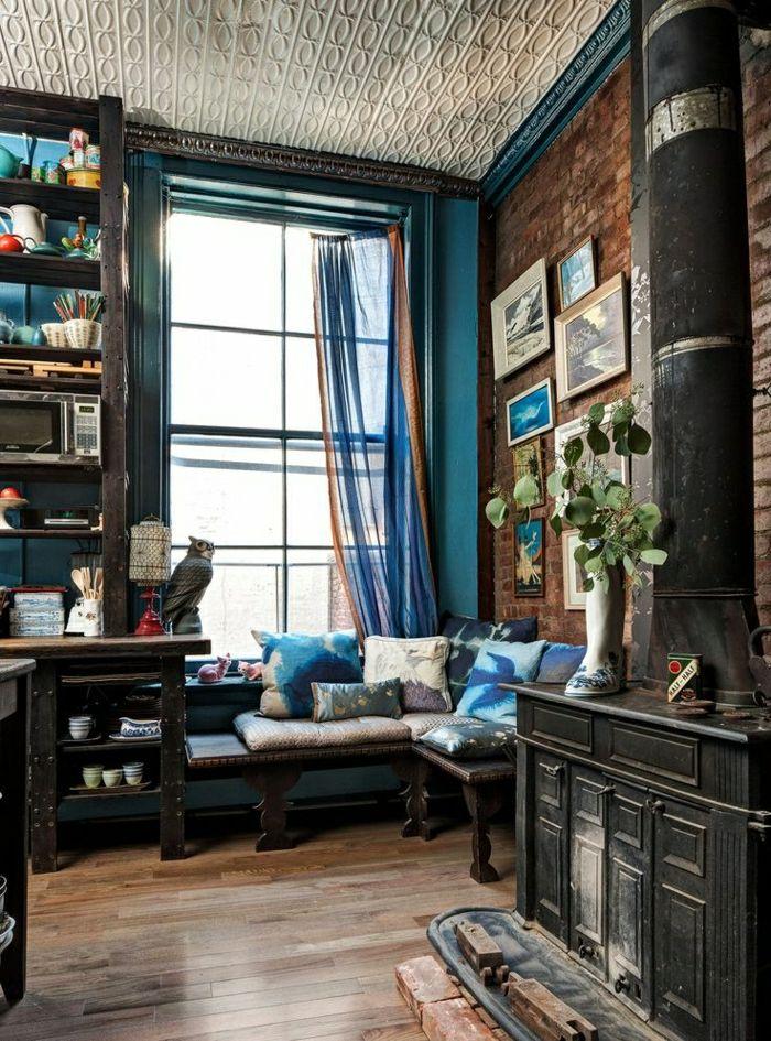 17 meilleures id es propos de grands rideaux de fen tre sur pinterest traitements de grandes. Black Bedroom Furniture Sets. Home Design Ideas