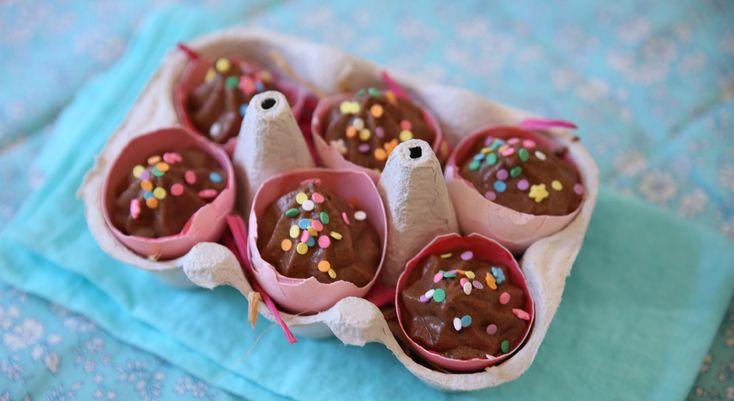 Mignardises de Pâques : mini-mousses en coquilles
