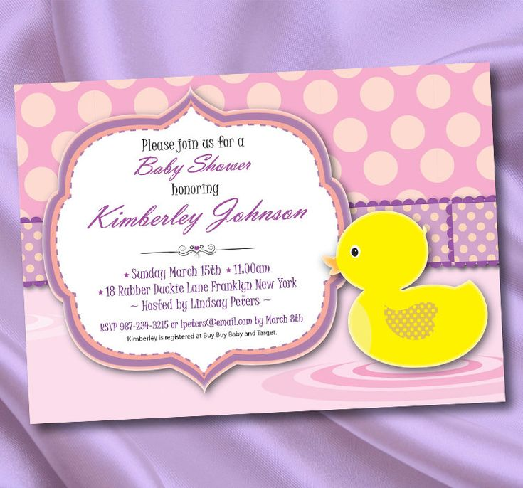 43 best Rubber Ducky Baby Shower images on Pinterest