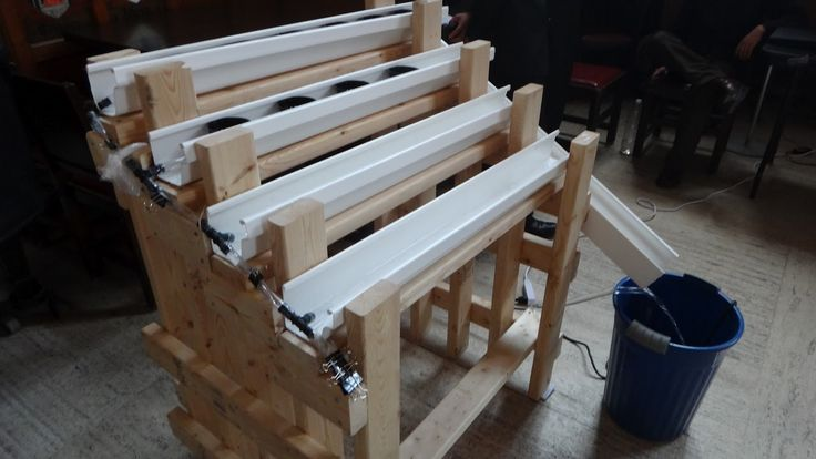 This Instructable outlines the construction of an indoor hydroponic system, which is a design project by a team of four First Year Engineering Science students from University of Toronto. The system is conceptual and experimental, and has not been tested in actual use. It uses the NFT technique to grow plants in PVC gutters. The system is designed to grow plants by a window that does not have table already. If a table is present, the frame can be easily modified to sit on the table. Any…