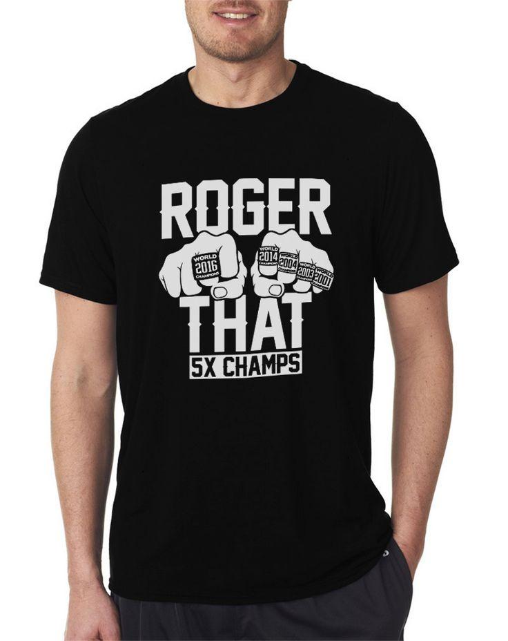 Tom Brady 5X Patriots Champions Rings Roger That Men T Shirt's