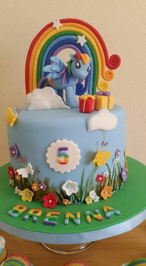 about My Little Pony Cakes on Pinterest  Little pony cake, Cake ...