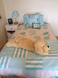 Sonya S sent us this fun photo of LOL bedding & cushions on her daughters bed.