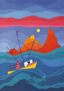 Ted Harrison great lesson on color theory and tints and shades