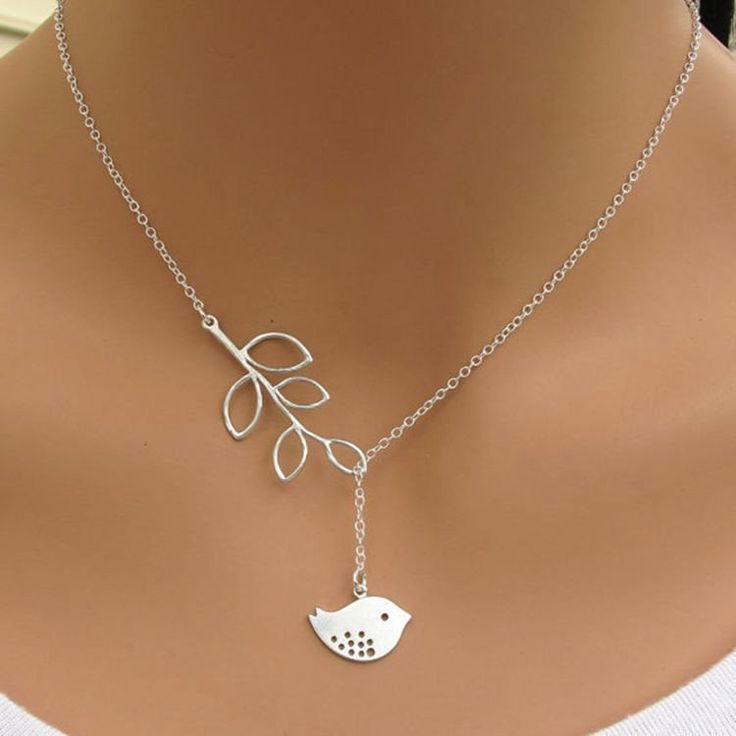 Hot fashion burst models jewelry leaves bird pendant necklace Maxi statement necklace Chokers Necklace for Women jewelry Bijoux