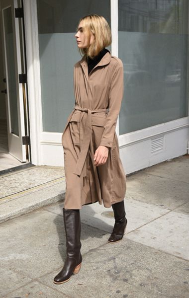 Anaïse | Rodebjer Odessa Coat, Clay