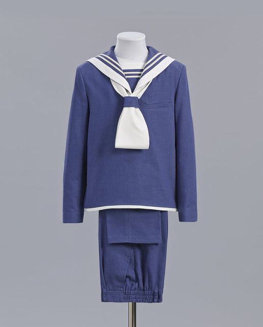 cc3703740 Traje de comunión Tizzas Marinero en azul Vestidos De Comunión