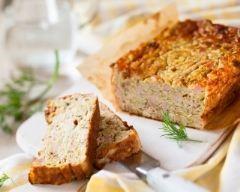 Cake au thon et aux courgettes