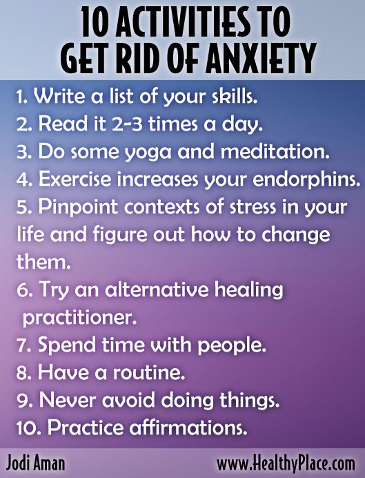Best 25 anxiety activities ideas on pinterest for How to get rid of things