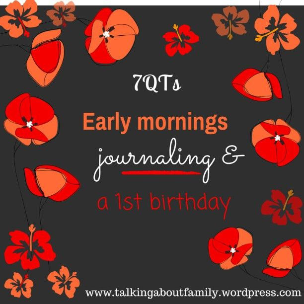 Friday has come round again and its time for seven quick takes of the week! This week, I'm looking back at baby's #birthday, #earlymornings, #gardening achievements, re-starting my #spiritualjournal and the launch of the marriage referendum 'no' campaign in Ireland (link in profile) #faith #giy