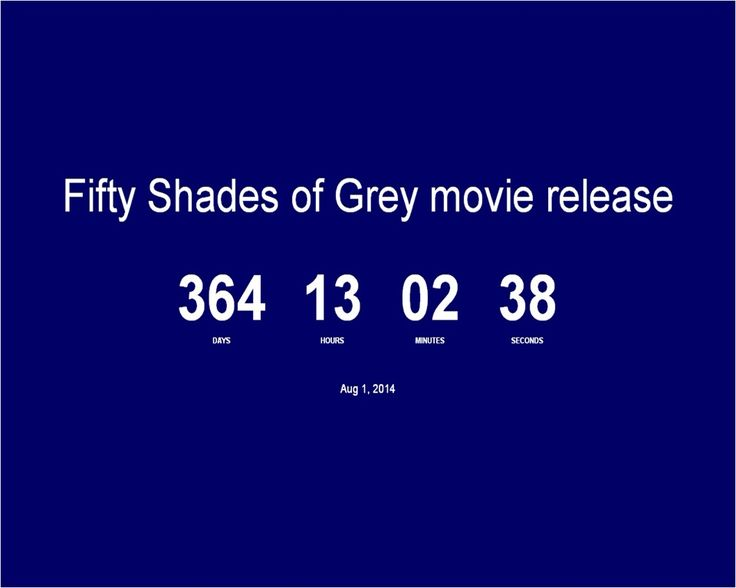 50 shades of grey release date