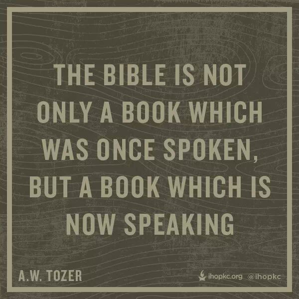 Quote from Tozer -  a repin from my friend that was too good not to share.