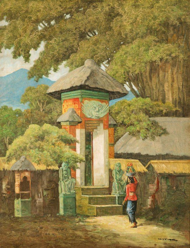 Hasim (Jakarta, 1921-1982) - Menuju Pura.
