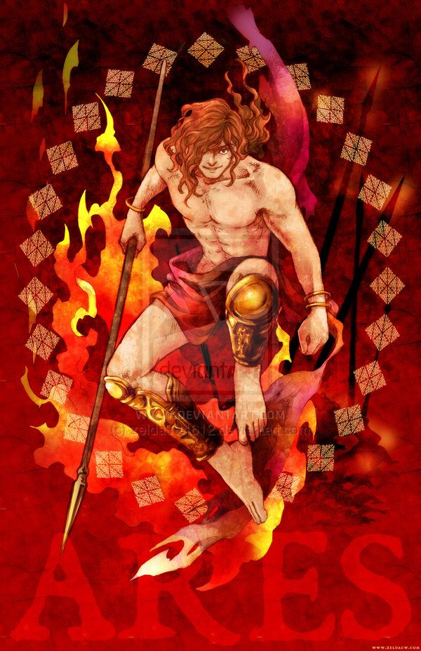 Myth Character Ares By Zeldacw Greek Roman Mythology