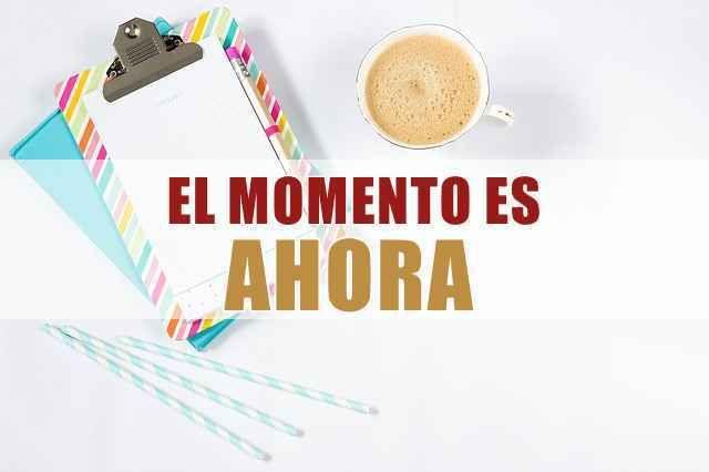 El momento perfecto es ¡ahora! http://aditips.com/el-momento-perfecto-es-ahora/
