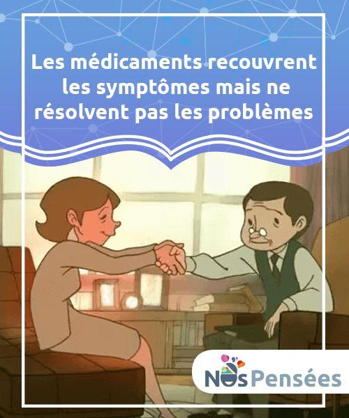 Les médicaments recouvrent les symptômes mais ne résolvent pas les problèmes   Les #problèmes sont #inévitables, ils font partie de la vie. Ils se transformeront en désespoir #uniquement si vous en décidez ainsi!  #Psychologie