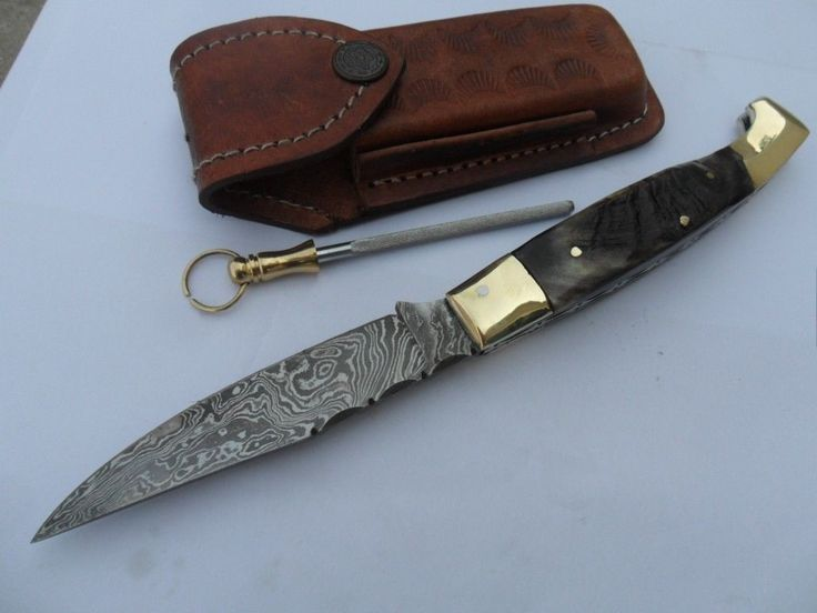 how to clean a folding knife