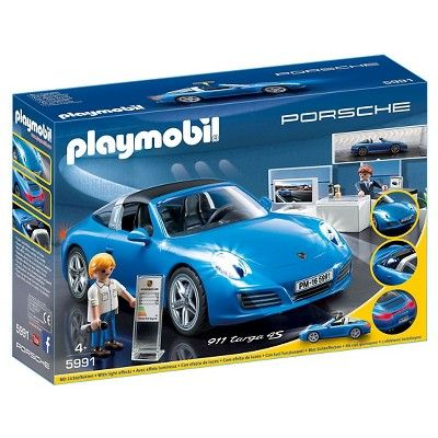 Playmobil Porsche Vehicle, Bright Multi Colors