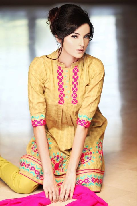 pakistani couture | Pakistani Dress Designer Ruby Shakeel Summer Collection