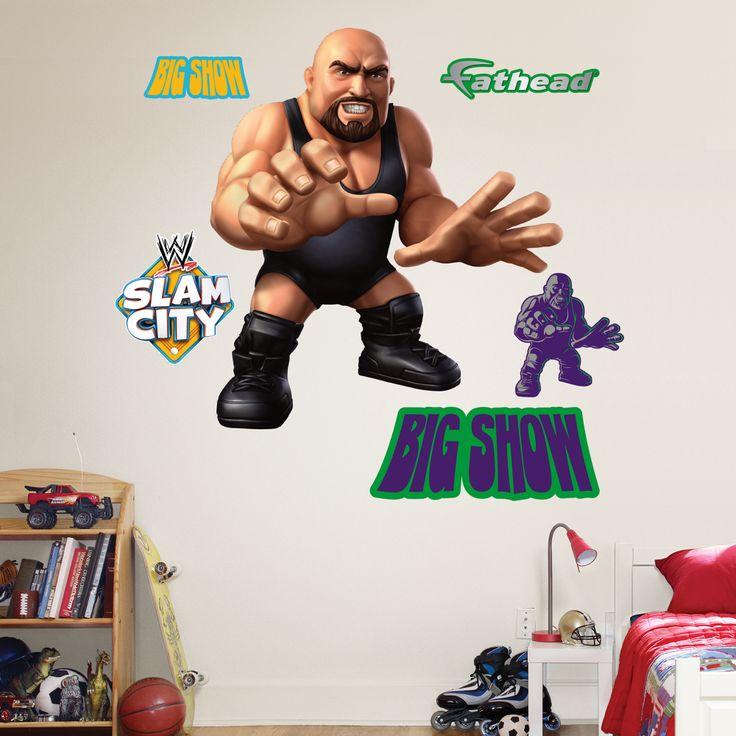 Big Show   Slam City Fathead Wall Decal Part 71