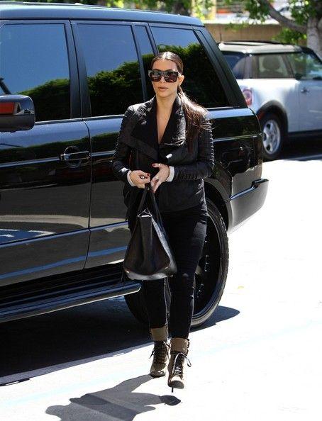 Kim Kardashian and her RR