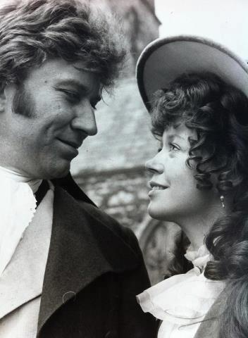 Ross and Demelza (Robin Ellis and Angharad Rees) from the 1970's