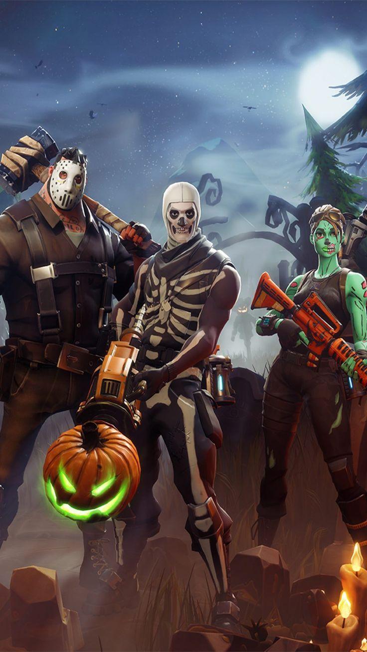 Halloween In Fortnite Battle Royale Mordeo Pinterest Mobile Wallpaper Halloween Wallpaper Best Gaming Wallpapers