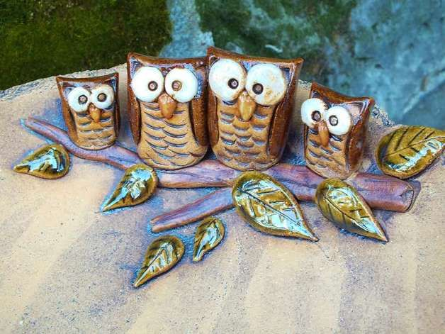 Die besten 25+ Keramik eule Ideen auf Pinterest Tonperlen, Lehm - figuren aus ton selber machen