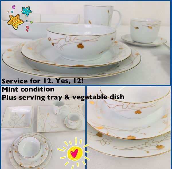 American Vintage Dinnerware Old Dishes Golden Wheat 100