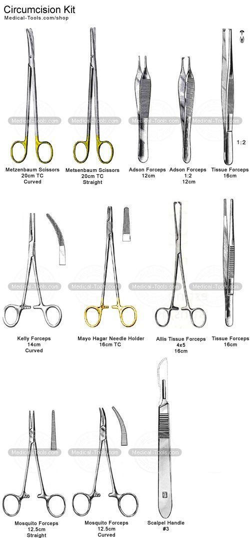 circumcision set