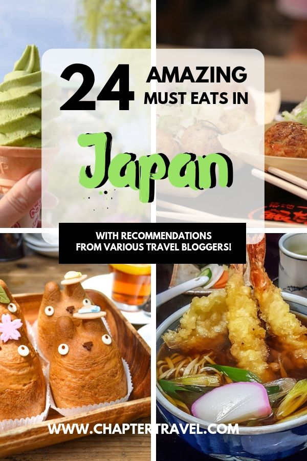 Try these 28 Japanese foods while you are in Japan!