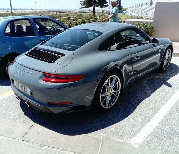 Pretty epic colour for a Porsche... Similar to Nardo Grey from Audi! Spotted by @bloemfontein_supercars in Langebaan  #ExoticSpotSA #Zero2Turbo #SouthAfrica #Porsche #911Carrera #Carrera #Langebaan