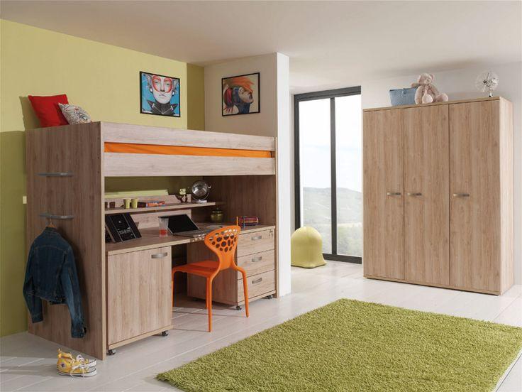 TURRI - stijlvolle jeugdkamer voor kleine ruimtes | Meubelen Crack