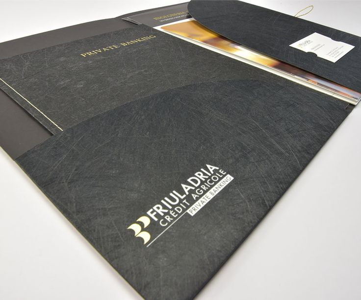 #Twist #Favini #folder and #brochure #Friuladria Private Banking -  Find more about #Twist http://www.favini.com/gs/en/fine-papers/twist/features-applications/