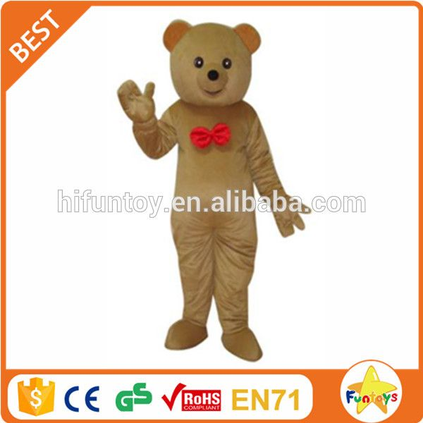 Check out this product on Alibaba.com App:Funtoys CE Brown teddy bear with red tie adult cartoon mascot costume https://m.alibaba.com/YrIzIz