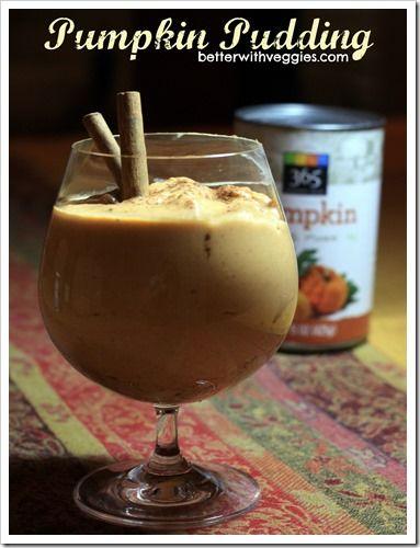 Pumpkin Pudding #vegan #glutenfree via @Heather Creswell Creswell Creswell Blackmon (Better With Veggies)