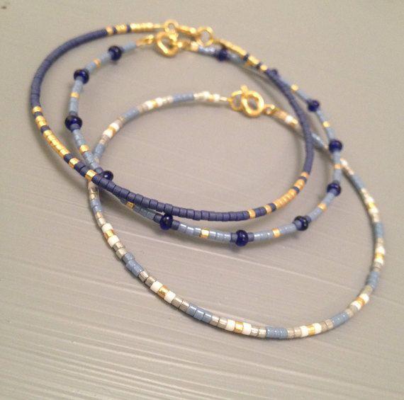 Bracelet damitié Friendship Bracelet en perles de par ToccoDiLustro