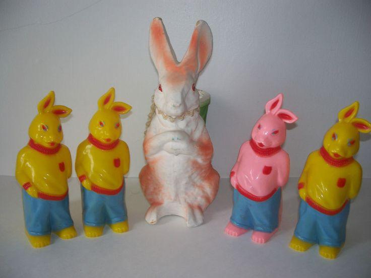 167 Best Easter Plastic Images On Pinterest Vintage