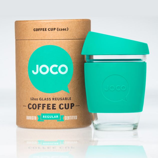 Joco vert - Gobelet réutilisable en verre - L'emballage Vert