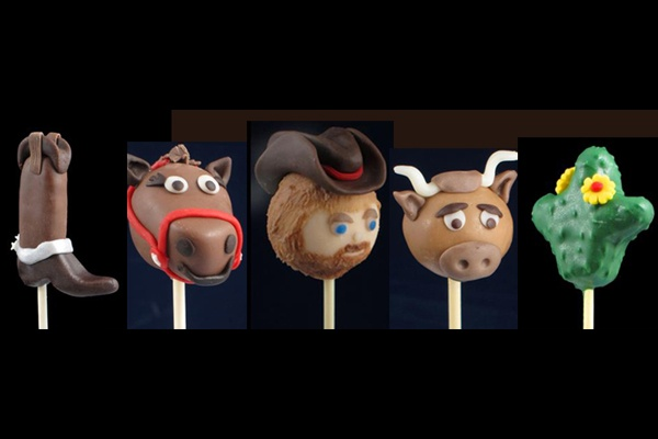 1000 Images About Cowboys And Horses Cake Pops On