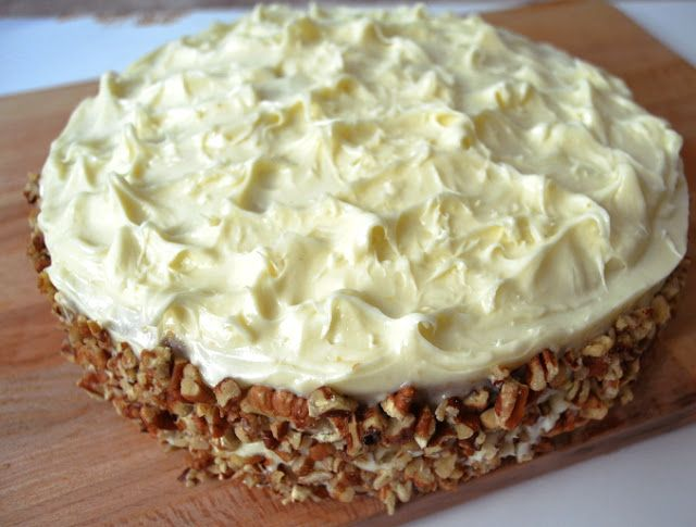 Learn how to bake the best ever Carrot Cake just how it's baked in a bakery.