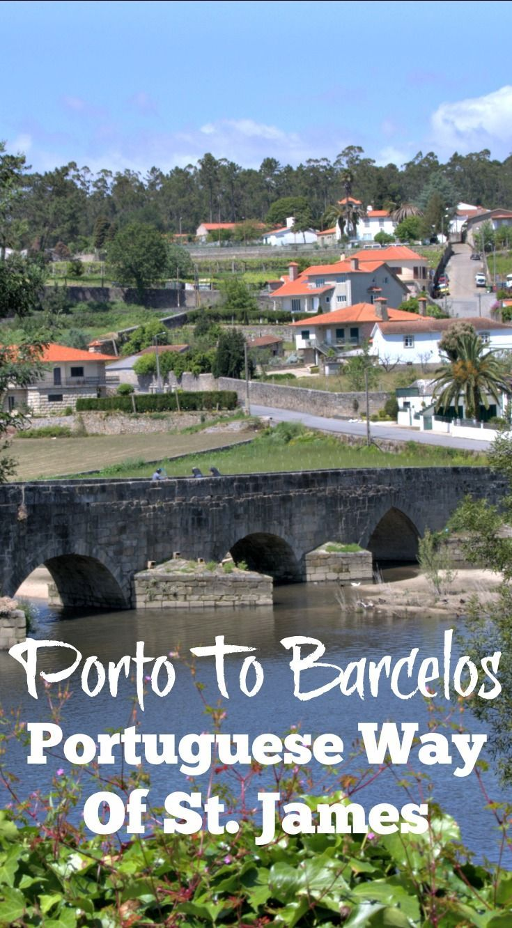 The Portuguese Way Of St. James: Porto To Barcelos This last installment is actually the first part of the journey for most people walking the central route from Porto to Santiago de Compostela but for various reasons, it was the final leg of a staggered Camino for me. Click through to read more about the Porto to Barcelos section of the Portuguese Camino. | Julie Dawn Fox in Portugal #camino #portugal #porto #walking #hiking #theway